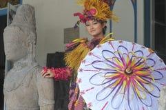 Φεστιβάλ μπαμπού στην Ινδονησία στοκ φωτογραφία με δικαίωμα ελεύθερης χρήσης