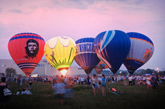 Φεστιβάλ μπαλονιών ζεστού αέρα Στοκ φωτογραφίες με δικαίωμα ελεύθερης χρήσης