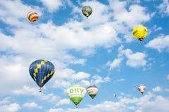 Φεστιβάλ μπαλονιών ζεστού αέρα Στοκ εικόνα με δικαίωμα ελεύθερης χρήσης
