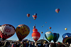 Φεστιβάλ μπαλονιών ζεστού αέρα Στοκ Εικόνες