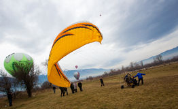 Φεστιβάλ μπαλονιών της Βουλγαρίας Razlog Στοκ φωτογραφία με δικαίωμα ελεύθερης χρήσης