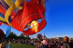 Φεστιβάλ μπαλονιών Στοκ εικόνες με δικαίωμα ελεύθερης χρήσης