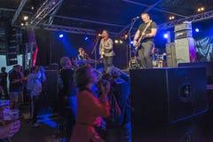 Φεστιβάλ μπλε Notodden, ο λίγος Andrew, Νορβηγία Στοκ Εικόνα