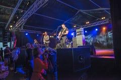 Φεστιβάλ μπλε Notodden, ο λίγος Andrew, Νορβηγία Στοκ φωτογραφία με δικαίωμα ελεύθερης χρήσης