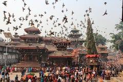 φεστιβάλ Νεπάλ στοκ εικόνες