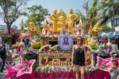 Φεστιβάλ λουλουδιών της Mai Chiang, Ταϊλάνδη Στοκ φωτογραφία με δικαίωμα ελεύθερης χρήσης