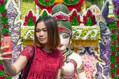 Φεστιβάλ λουλουδιών της Mai Chiang, Ταϊλάνδη Στοκ εικόνα με δικαίωμα ελεύθερης χρήσης