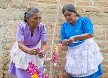 Φεστιβάλ λουλουδιών & φοινικών σε Panchimalco, Ελ Σαλβαδόρ Στοκ Εικόνα