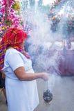 Φεστιβάλ λουλουδιών & φοινικών σε Panchimalco, Ελ Σαλβαδόρ Στοκ Εικόνες