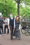 Φεστιβάλ οδών στο leeeuwarden, Κάτω Χώρες στοκ εικόνες με δικαίωμα ελεύθερης χρήσης