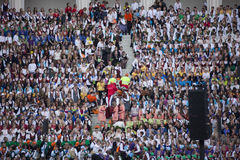 Φεστιβάλ Ρήγα τραγουδιού Λετονία Στοκ Φωτογραφία