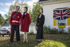 Φεστιβάλ σκιάχτρων, κόλπος Mahone, Καναδάς Στοκ φωτογραφίες με δικαίωμα ελεύθερης χρήσης
