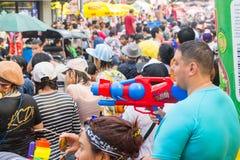 Φεστιβάλ στις 14 Απριλίου 2015 Chiangmai, Ταϊλάνδη Songkran Στοκ φωτογραφία με δικαίωμα ελεύθερης χρήσης