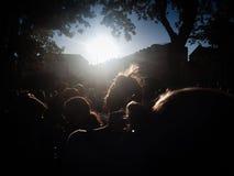 φεστιβάλ στο πάρκο Στοκ Εικόνες
