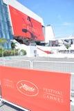 2017 φεστιβάλ ταινιών των Καννών στοκ εικόνα