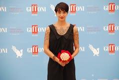 Φεστιβάλ 2015 ταινιών Al Giffoni της Ασίας Argento Στοκ εικόνες με δικαίωμα ελεύθερης χρήσης