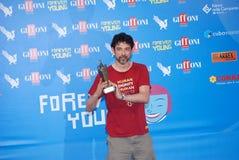 Φεστιβάλ 2013 ταινιών Al Giffoni του Alessandro Gassmann Στοκ εικόνα με δικαίωμα ελεύθερης χρήσης