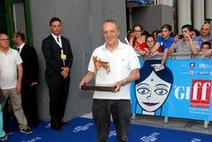 Φεστιβάλ 2013 ταινιών Al Giffoni του Dario Argento Στοκ Φωτογραφίες