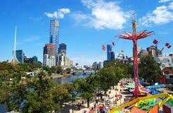 Φεστιβάλ της Μελβούρνης Moomba Στοκ Φωτογραφία
