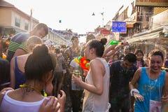 Φεστιβάλ της Μπανγκόκ Songkran Στοκ Φωτογραφία