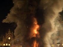 Φεστιβάλ της πυρκαγιάς στη Βαλένθια Στοκ Εικόνες