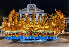 Φεστιβάλ της Ταϊλάνδης αγαλμάτων κεριών Στοκ εικόνες με δικαίωμα ελεύθερης χρήσης