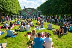 Φεστιβάλ της Jazz Usadba Στοκ φωτογραφίες με δικαίωμα ελεύθερης χρήσης