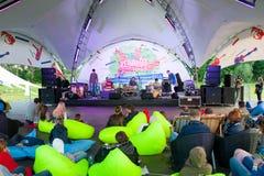 Φεστιβάλ της Jazz Usadba Στοκ Φωτογραφίες