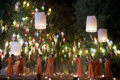 Φεστιβάλ της Mai Yi Peng Chiang Στοκ εικόνα με δικαίωμα ελεύθερης χρήσης