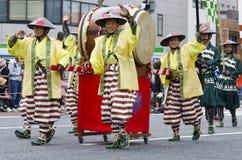 Φεστιβάλ του Νάγκουα, Ιαπωνία στοκ εικόνες με δικαίωμα ελεύθερης χρήσης