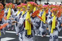 Φεστιβάλ του Νάγκουα, Ιαπωνία στοκ φωτογραφίες με δικαίωμα ελεύθερης χρήσης