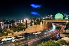 Φεστιβάλ του φωτός στην Ιερουσαλήμ Στοκ Φωτογραφίες