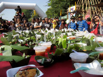 Φεστιβάλ τροφίμων Στοκ Εικόνες