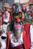 Φεστιβάλ των μίμων με προσωπείο σε Paisievo, Βουλγαρία Στοκ φωτογραφία με δικαίωμα ελεύθερης χρήσης