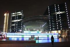 Φεστιβάλ των φω'των Βερολίνο Στοκ Φωτογραφία