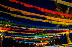 Φεστιβάλ των χρωμάτων Στοκ φωτογραφία με δικαίωμα ελεύθερης χρήσης