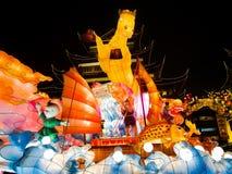 Φεστιβάλ φαναριών στο κινεζικό νέο έτος. Στις 16 Φεβρουαρίου 2014 Στοκ Εικόνες