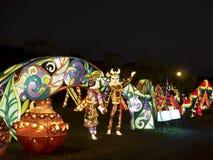 2014 φεστιβάλ φαναριών της Ταϊπέι Στοκ φωτογραφία με δικαίωμα ελεύθερης χρήσης
