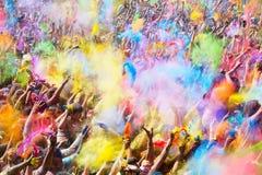 Φεστιβάλ de Los colores Holi Στοκ Φωτογραφίες