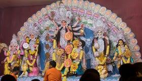 Φεστιβάλ Durga Στοκ Εικόνες