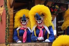 Φεστιβάλ Fasnacht, Βασιλεία στοκ φωτογραφίες