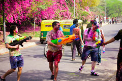 Φεστιβάλ Holi στοκ εικόνα με δικαίωμα ελεύθερης χρήσης