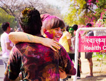 Φεστιβάλ Holi στοκ εικόνα