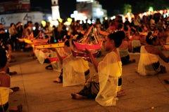 Φεστιβάλ 2011 Krathong Loy στοκ εικόνες