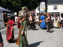 Φεστιβάλ Middelalder στοκ φωτογραφία με δικαίωμα ελεύθερης χρήσης