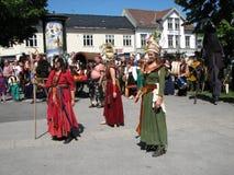 Φεστιβάλ Middelalder στοκ εικόνα με δικαίωμα ελεύθερης χρήσης
