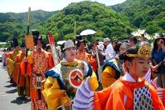 Φεστιβάλ Mifune, Κιότο, Ιαπωνία στοκ φωτογραφία