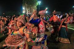 Φεστιβάλ Navratri, Gujarat, Ινδία-10 Στοκ Εικόνες
