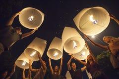 Φεστιβάλ Peng Yee σε Chiang Mai, Ταϊλάνδη Στοκ Φωτογραφίες