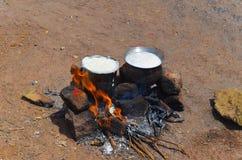 Φεστιβάλ Pongal, Tamilnadu στοκ εικόνα με δικαίωμα ελεύθερης χρήσης